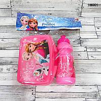 Ланч бокс и пластиковая бутылочка Frozen, фото 1