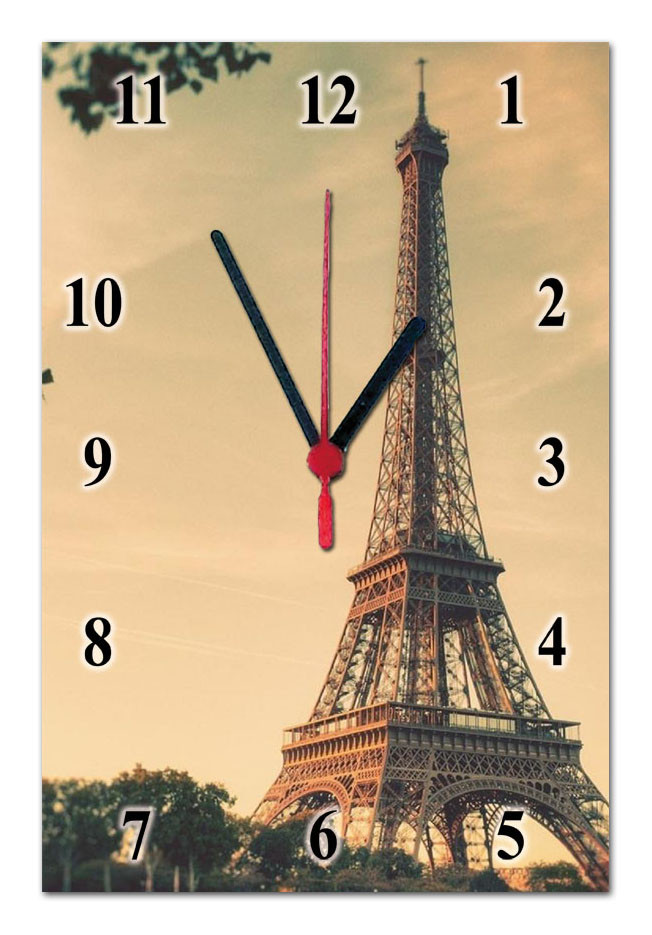 Часы настенные стеклянные Т-Ок 001 SG-2003004
