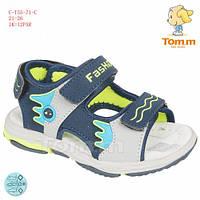 Босоножки TOM.M 22(р) Синий C-T55-71-C