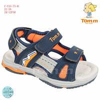 Босоножки TOM.M 23(р) Синий, оранжевый C-T55-73-M