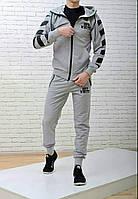 Мужской спортивный костюм Off White серый