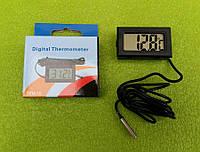Термометр-термометр цифровий універсальний -50°C...+110°C (на батарейках) ЧОРНИЙ Китай, фото 1