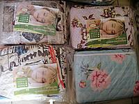 Одеяло летнее двуспальное 175х205см, наполнитель силиконовые волокна, ТМ Лелека