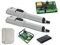 FAAC 415 L LS — автоматика для распашных ворот (створка 3 до 4 м с электромех. конц.), фото 1