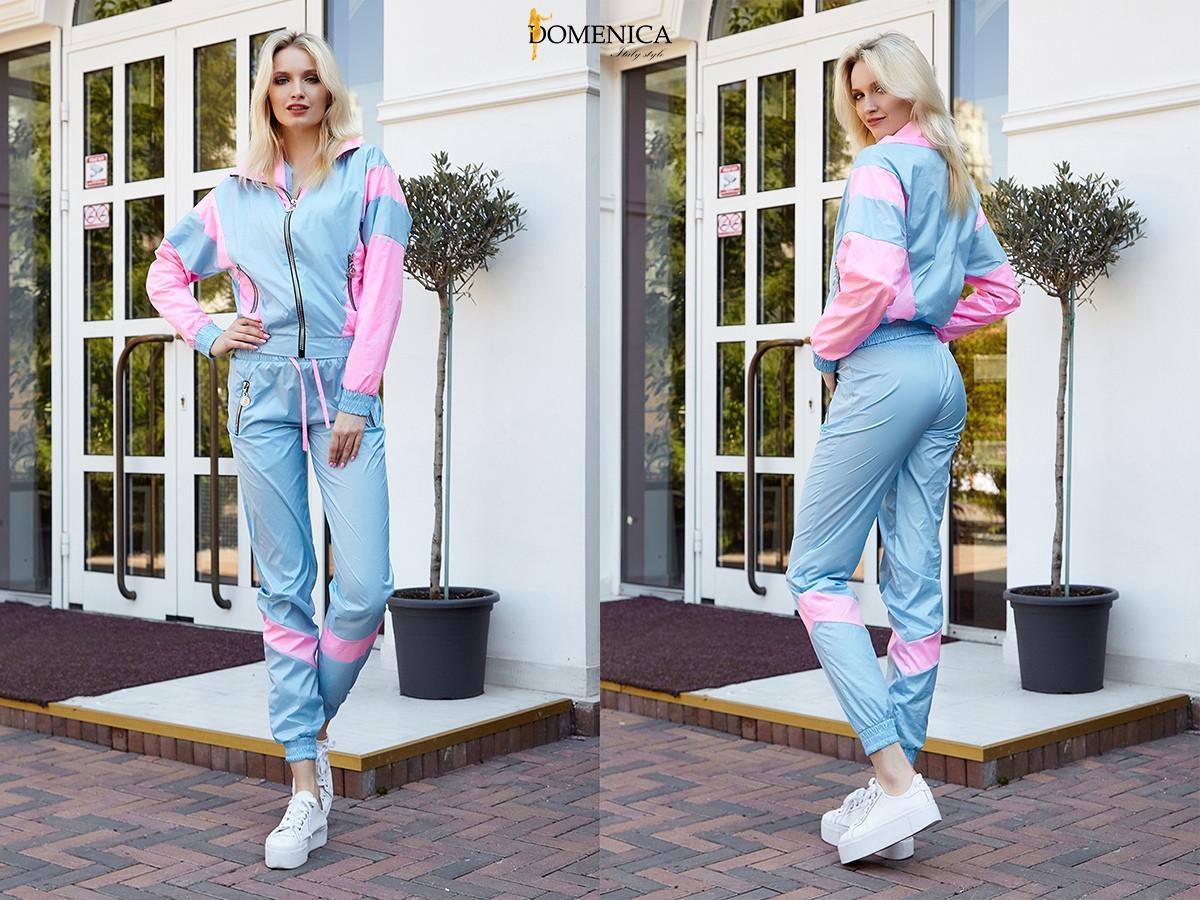 5afad8d0f3b Женский спортивный костюм из плащевки в расцветках 3105623 -  Интернет-магазин одежды