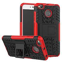 Чехол Armor Case для Xiaomi Redmi 4X Красный