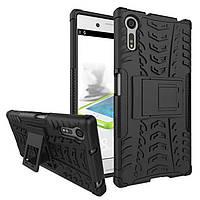 Чехол Armor Case для Sony Xperia XZ F8331 / F8332 (5.2 дюйма) Черный
