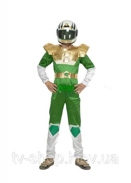 Костюм «Космический реинджер»+шлем ,6 лет (золотой)