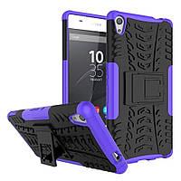 Чехол Armor Case для Sony Xperia XA F3112 / F3111 Фиолетовый