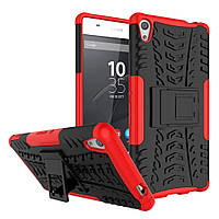 Чехол Armor Case для Sony Xperia XA Ultra / C6 Ultra Красный