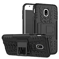 Чехол Armor Case для Samsung Galaxy J3 2017 (J330) Черный