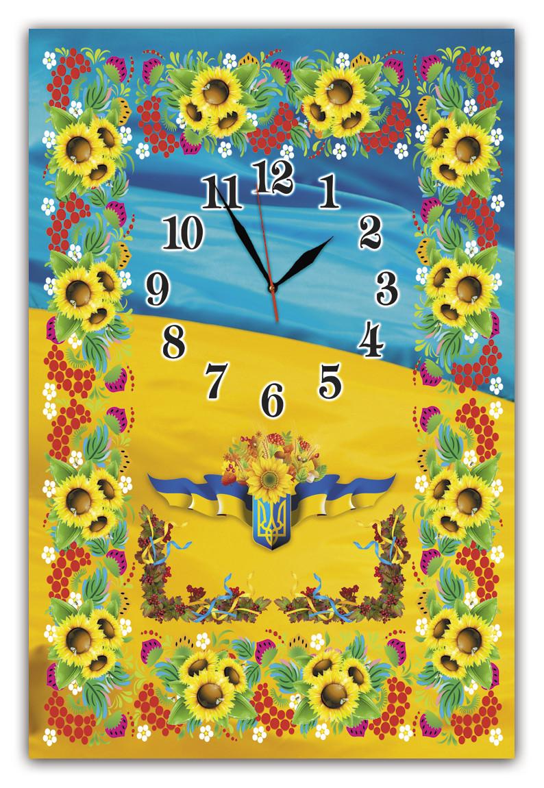 Годинники настінні скляні Т-Ок 013 SG-40061