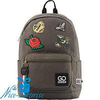 Модный рюкзак для девочки GoPack GO18-138L-2 (9-11 класс), фото 1
