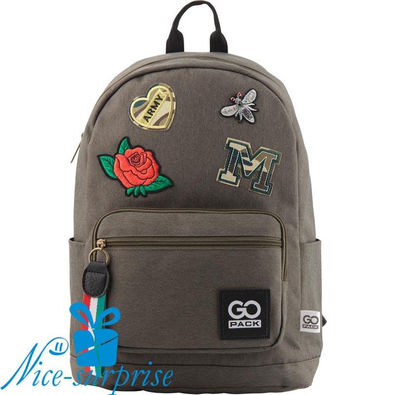 1611f70a0bc8 Модный рюкзак для девочки GoPack GO18-138L-2 - купить модный рюкзак ...