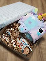 Подарочный набор кигуруми звездный единорог, киндер сюрприз и киндер шоколад