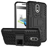 Чехол Armor Case для Motorola Moto G4 XT1622 / Moto G4 Plus XT1642 Черный