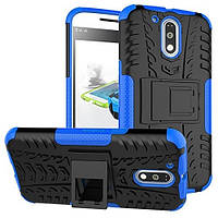 Чехол Armor Case для Motorola Moto G4 XT1622 / Moto G4 Plus XT1642 Синий