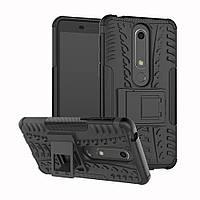 Чехол Armor Case для Nokia 6 2018 / Nokia 6.1 Черный
