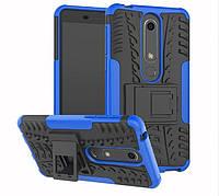 Чехол Armor Case для Nokia 6 2018 / Nokia 6.1 Синий
