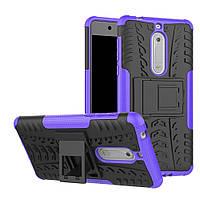 Чехол Armor Case для Nokia 5 Фиолетовый