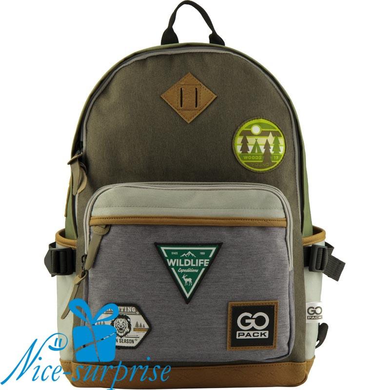 7817c9b81980 Модный рюкзак для школы GoPack GO19-135L-1 - купить модный рюкзак ...