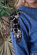 Женский батальный прогулочный костюм из трикотажа, фото 2