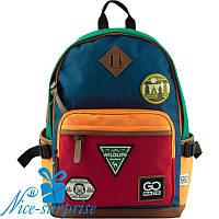 Модный рюкзак для школы GoPack GO19-135L-3 (9-11 класс), фото 1