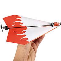 Складывая электроэнергии бумаги самолеты набор преобразования игрушка в подарок 1TopShop
