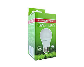 LED Лампа Euroelectric A60 10W E27 4000K