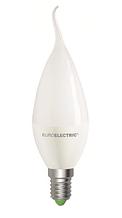 LED Лампа свеча Eurolectric CW 6W E14 4000K