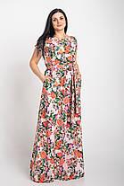 Длинное платье в пол размеры 44-64р, фото 3