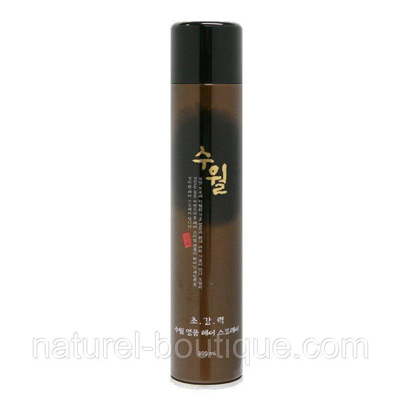 Лак для волос Hyssop Suwall Luxury Super Hard