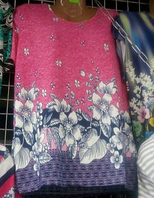 Женская стильная футболка большого размера, фото 2