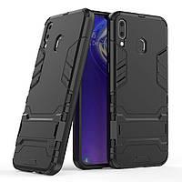 Чехол Iron для Samsung Galaxy M20 Бампер противоударный Black