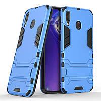 Чехол Iron для Samsung Galaxy M20 Бампер противоударный Blue