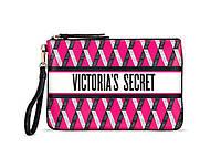 Клатч от Victoria's Secret ярко-розового цвета с графическим принтом