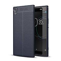 Чехол Touch для Sony Xperia XA1 Ultra / G3212 G3221 G3223 G3226 бампер синий