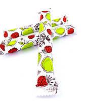 Плодово-ягодная конфета-пастила яблоко и малина Sergio  20 г