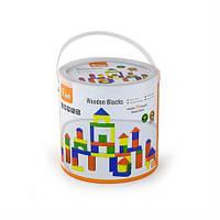 Набор строительных блоков Viga Toys 50 шт., 3,5 см (59542)