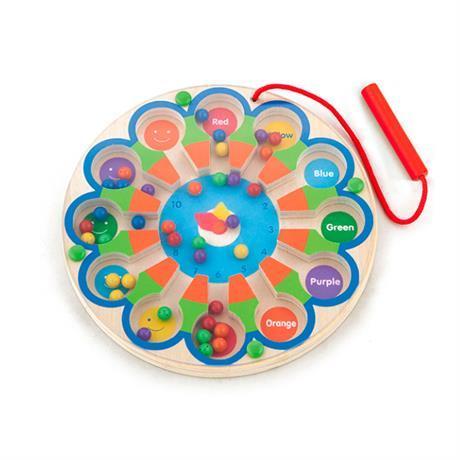"""Развивающая игрушка Viga Toys Магнитный лабиринт """"Часы"""" (59980)"""
