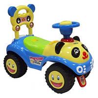 Машинка-каталка Alexis-Babymix 7601 blue