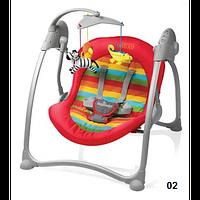 Шезлонг Baby Design Loko-02 red