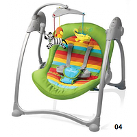 Шезлонг Baby Design Loko-04 green