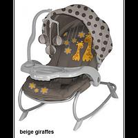 Кресло-качалка Bertoni DREAM TIME beige giraffes