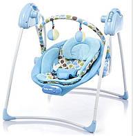 Кресло-качалка Alexis-Babymix SW108 (blue)