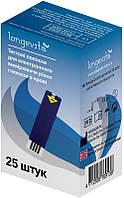Тест-полоски Longevita (25 шт)