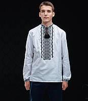 Сорочка чоловіча Класична чорно-біла