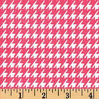 """Ткань для пэчворка и рукоделия американский хлопок """"Лапка розовая"""", 29*55 см"""