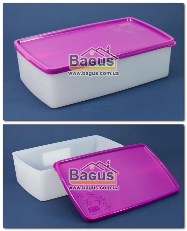 """Ємність 1,3 л для заморожування і зберігання харчова пластикова з кришкою """"Arctic Box"""" Ал-Пластик (Україна)"""