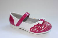 Детские туфли для девочек ТМ Clibee (Румыния) 25,27,30р.